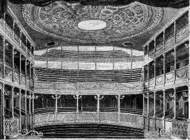 Londyński teatr Drury Lane /Encyklopedia Internautica