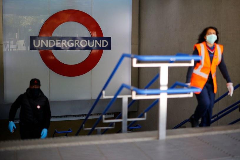 Londyńskie metro, zdjęcie ilustracyjne /Tolga Akmen /AFP
