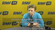 Longina Kaczmarska: Chciałabym, żeby tutaj strona rządowa rozwiązała ten konflikt