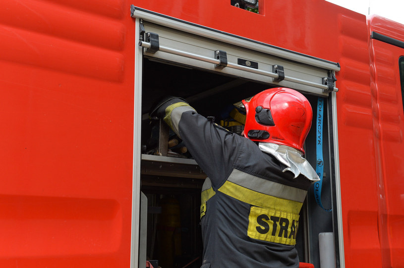 Łopata wirnika pali się na wysokości ok. 160 m, poza zasięgiem strażackiego sprzętu; zdj. ilustracyjne /Gerard /Reporter
