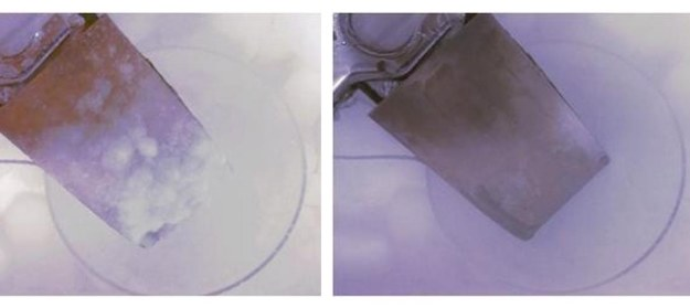 Łopata wirnika w testach laboratoryjnych. Fot. Tour Group/Rice University /materiały prasowe