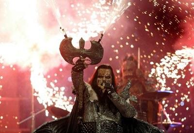 Lordi dał ognia /arch. AFP
