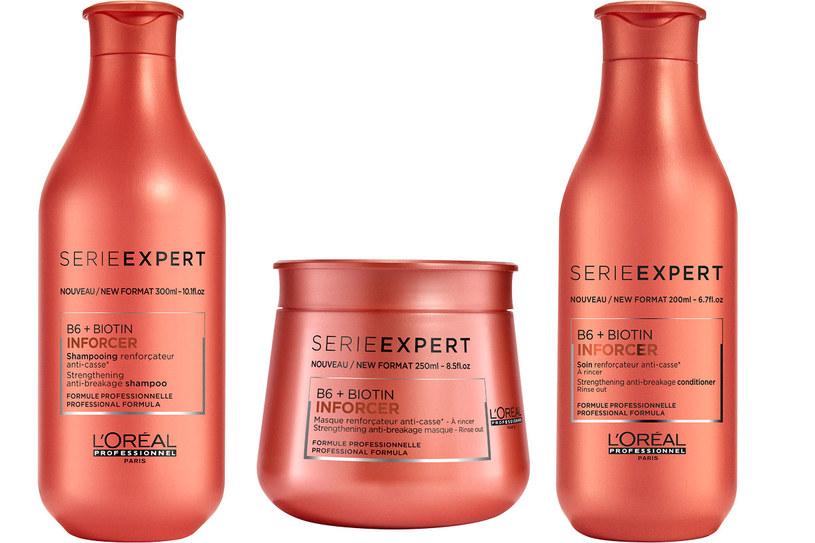 L'Oréal Professionnel: Gama Inforcer /materiały prasowe