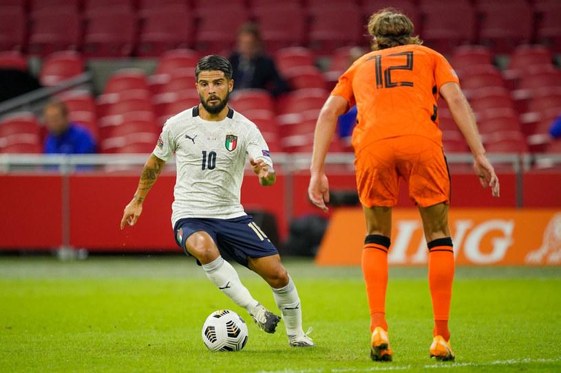 Lorenzo Insigne, skrzydłowy reprezentacji Włoch /Getty Images