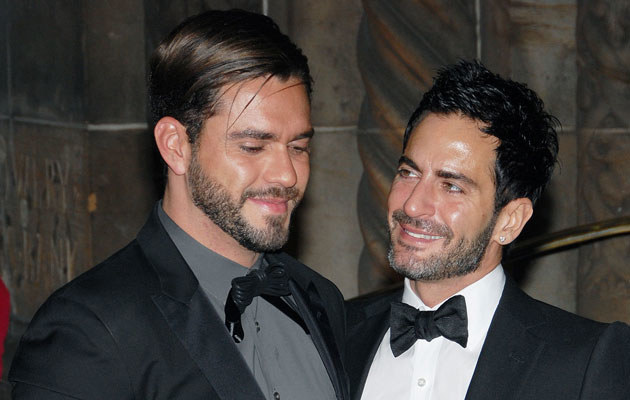 Lorenzo Martone i Marc Jacobs  /Splashnews