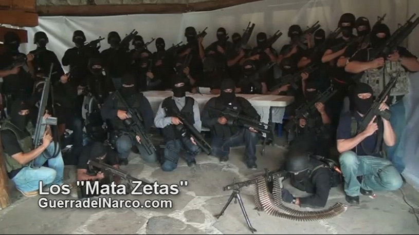 """""""Los Zetas"""" - jeden z najbardziej bezwzględnych karteli świata /AFP"""