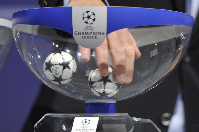 Losowanie Ligi Mistrzów /AFP