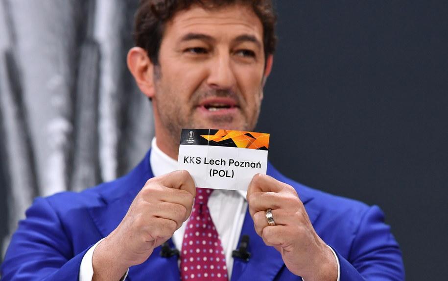 Losowanie odbyło się w Nyonie /Harold Cunningham / UEFA HANDOUT /PAP/EPA