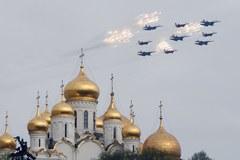 Lotnicze ćwiczenia nad Moskwą