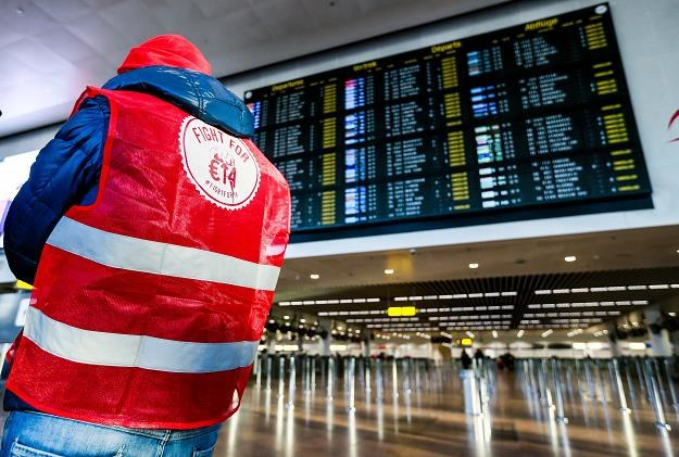 Lotnisiko Zaventem pod Brukselą całkowicie sparaliżowane przez strajk /EPA