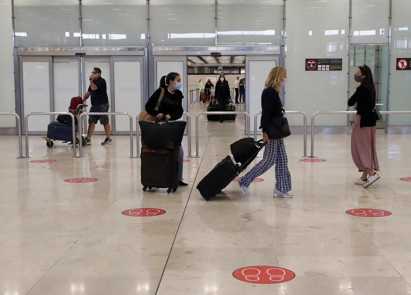 Lotnisko Barajas w Madrycie w niedzielę, 21 czerwca /EPA