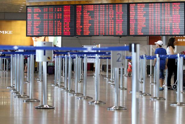 Lotnisko Ben Gurion pod Tel Awiwem /AFP