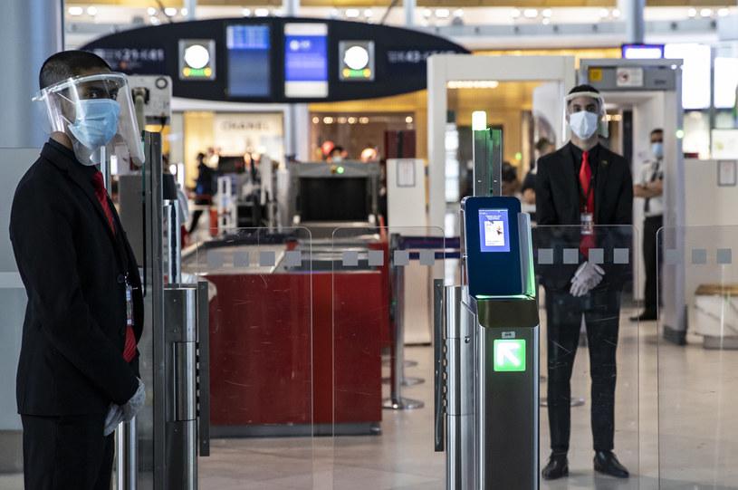 Lotnisko  Charlesa de Gaulle'a pod Paryżem /Ian LANGSDON / POOL / AFP /AFP