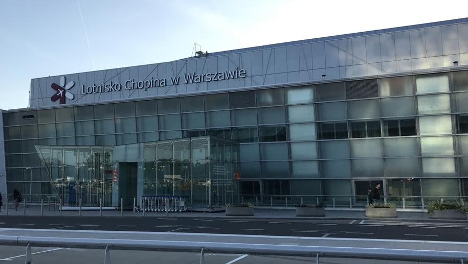 Lotnisko Chopina w Warszawie /Krzysztof Zasada /RMF FM