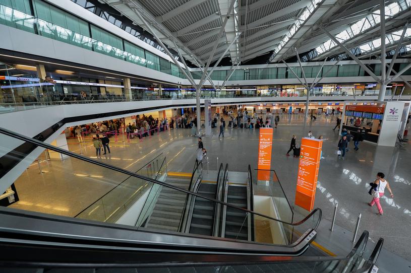 Lotnisko Chopina w Warszawie /Gerard /Reporter