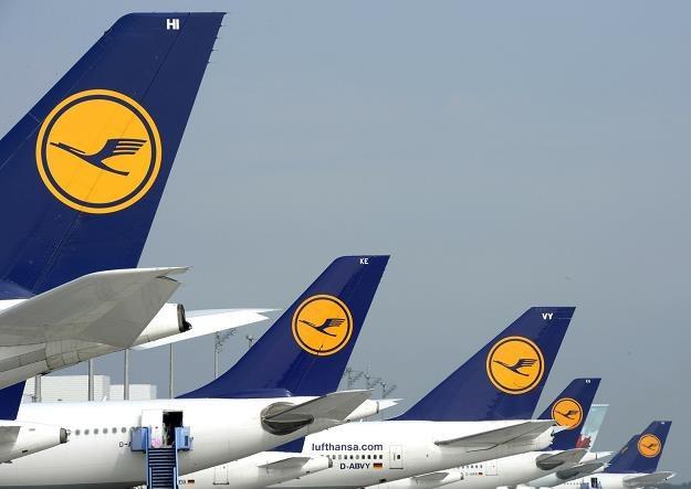 Lotnisko Franz-Josef Strauss w Monachium w czasie strajku pilotów Lufthansa /AFP