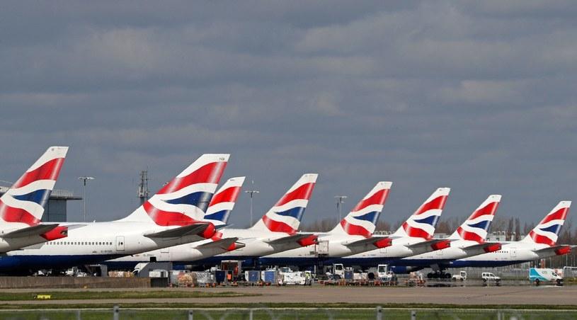 Lotnisko Heathrow /ADRIAN DENNIS /AFP