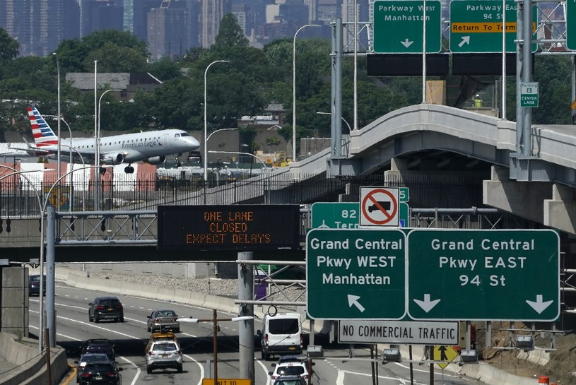 Lotnisko LaGuardia w Nowym Jorku /AFP