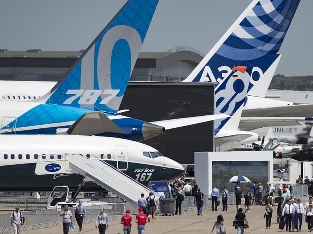 lotnisko Le Bourget we Francji /IAN LANGSDON /PAP