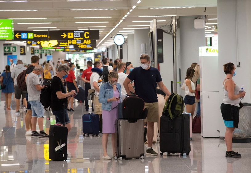 Lotnisko na Balearach /ATIENZA /PAP