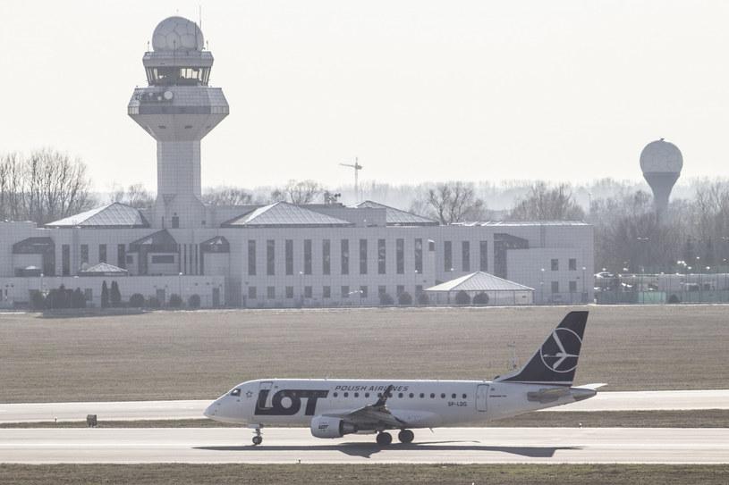 Lotnisko Okęcie /Maciej Luczniewski /Reporter