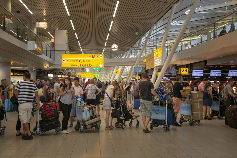 Lotnisko Schiphol /Hollandse Hoogte / Sabine Joosten /East News