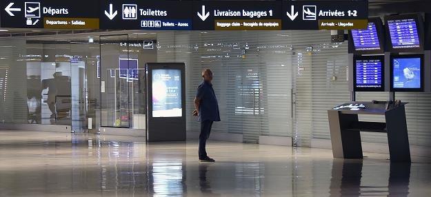 Lotnisko Tuluza-Blagnac w czasie strajku pilotów Air France /AFP