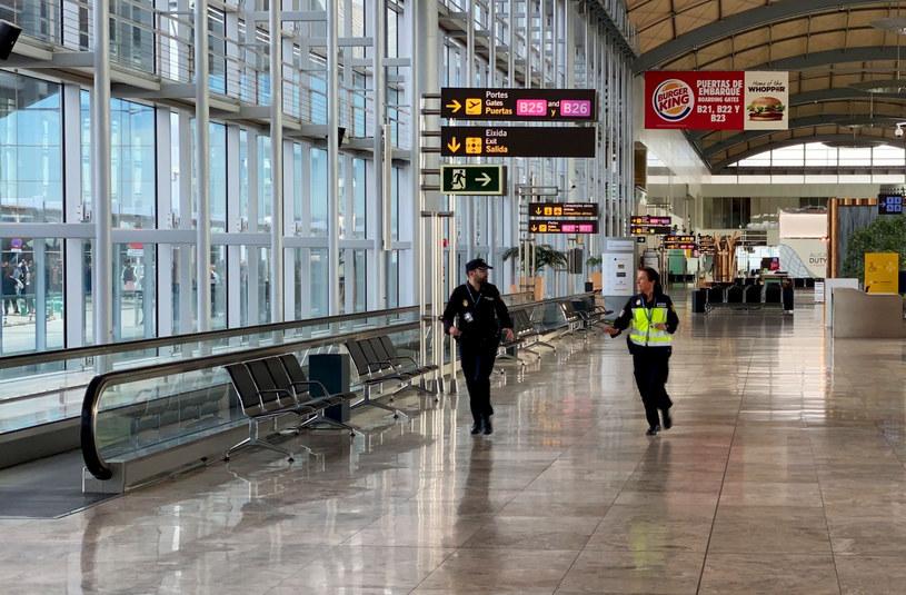 Lotnisko w Alicante (Hiszpania) /Daniel Leal-Olivas / AFP /East News