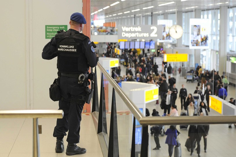 Lotnisko w Amsterdamie /PAP/EPA
