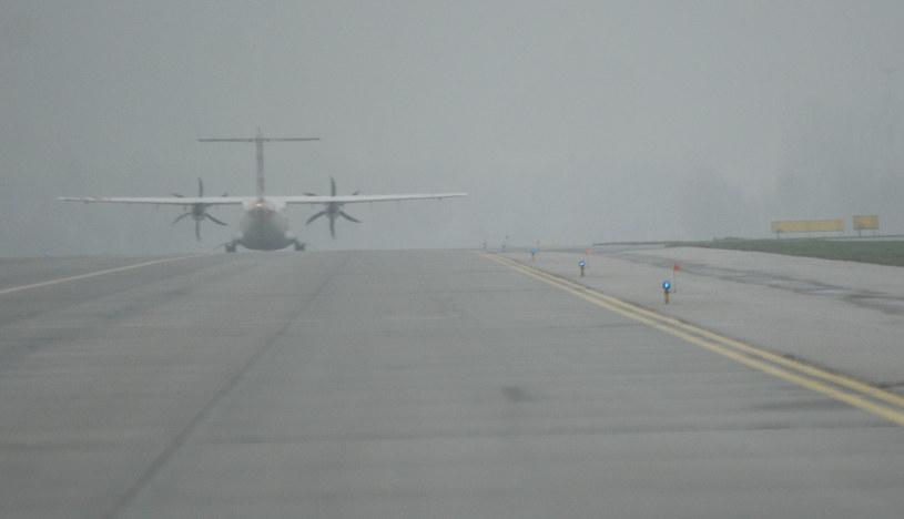 Lotnisko w Balicach sparaliżowane przez mgłę, zdj. ilustracyjne /Marek Lasyk  /Reporter