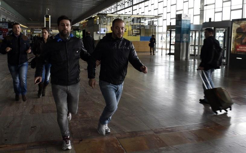 Lotnisko w Barcelonie /AFP