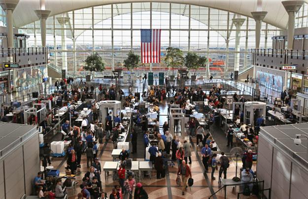 Lotnisko w  Denver /AFP