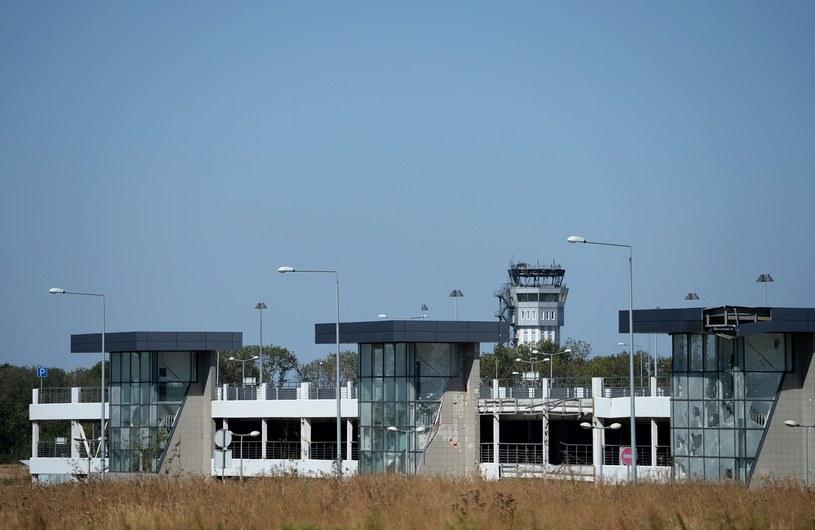 Lotnisko w Doniecku /AFP