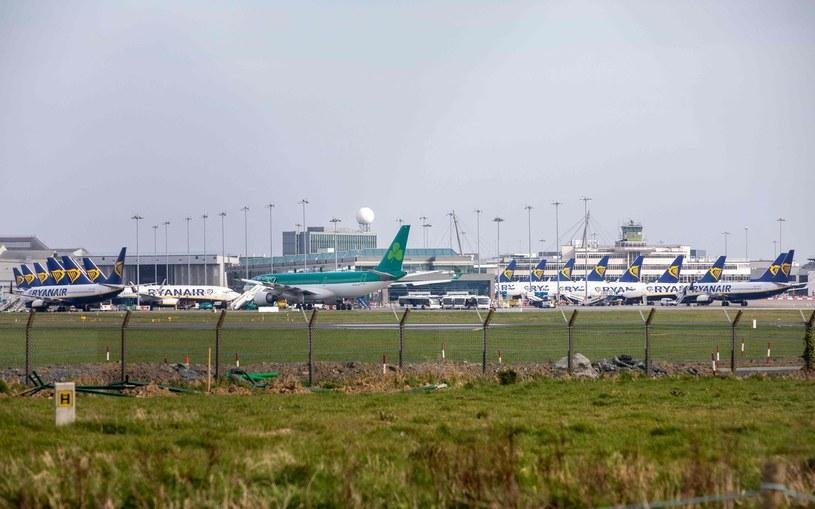 Lotnisko w Dublinie /AFP
