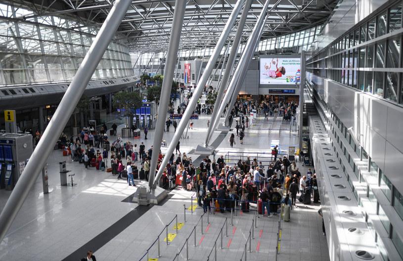 Lotnisko w Dusseldorfie /INA FASSBENDER / AFP /AFP