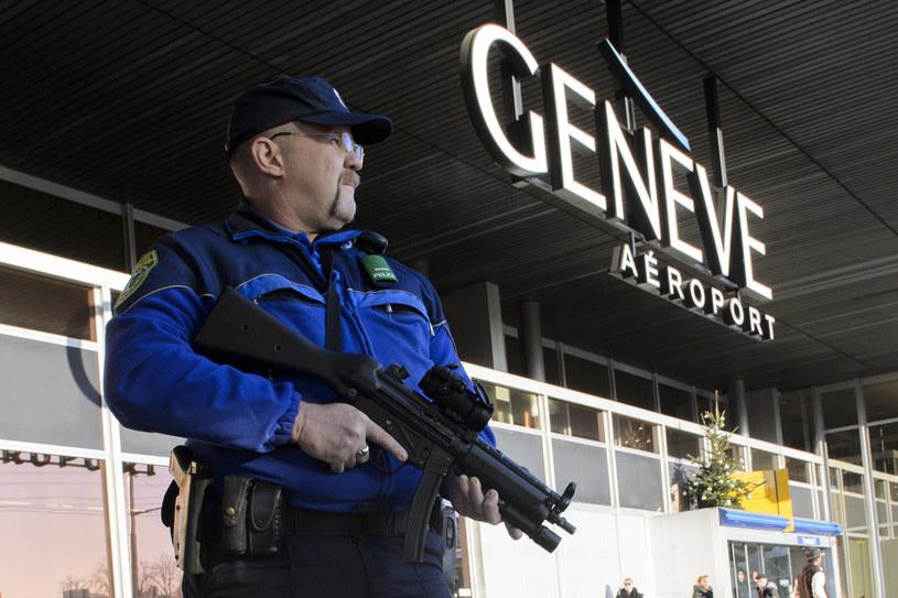 Lotnisko w Genewie /RICHARD JUILLIART /AFP