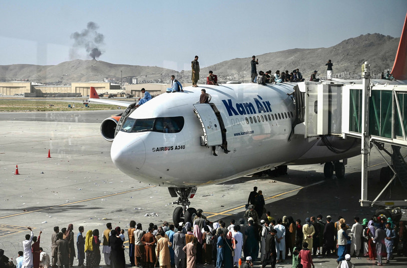 Lotnisko w Kabulu /WAKIL KOHSAR/AFP /East News