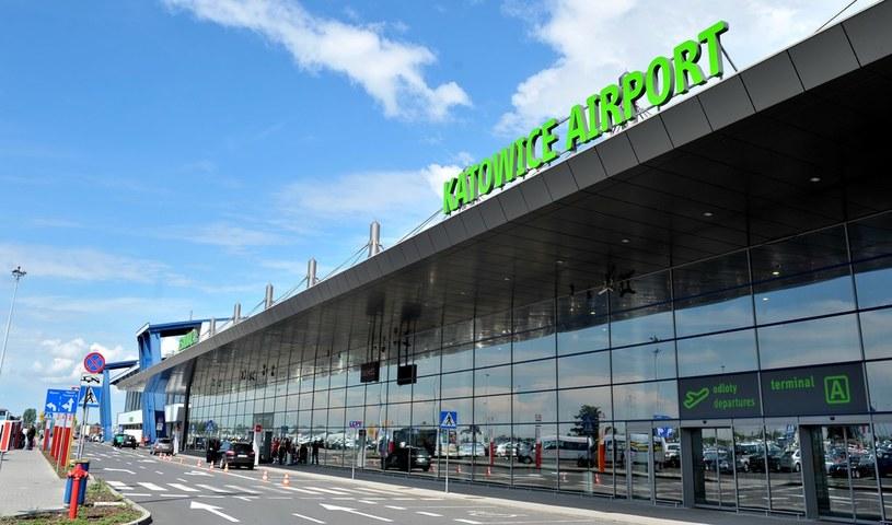 Lotnisko w Katowicach /Łukasz Kalinowski /East News