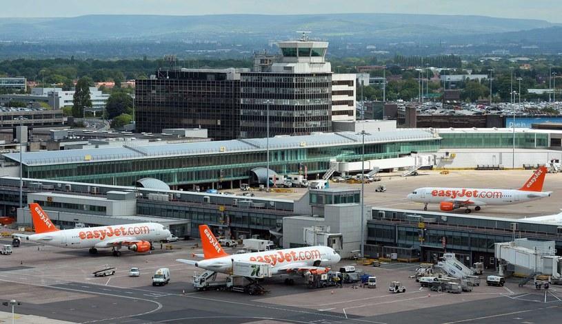 Lotnisko w Manchesterze /AFP