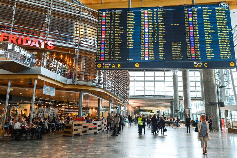 Lotnisko w Oslo; zdj. ilustracyjne /Artur Widak/NurPhoto /Getty Images