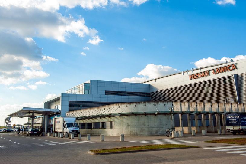 Lotnisko w Poznaniu /Marek Lapis /Agencja FORUM