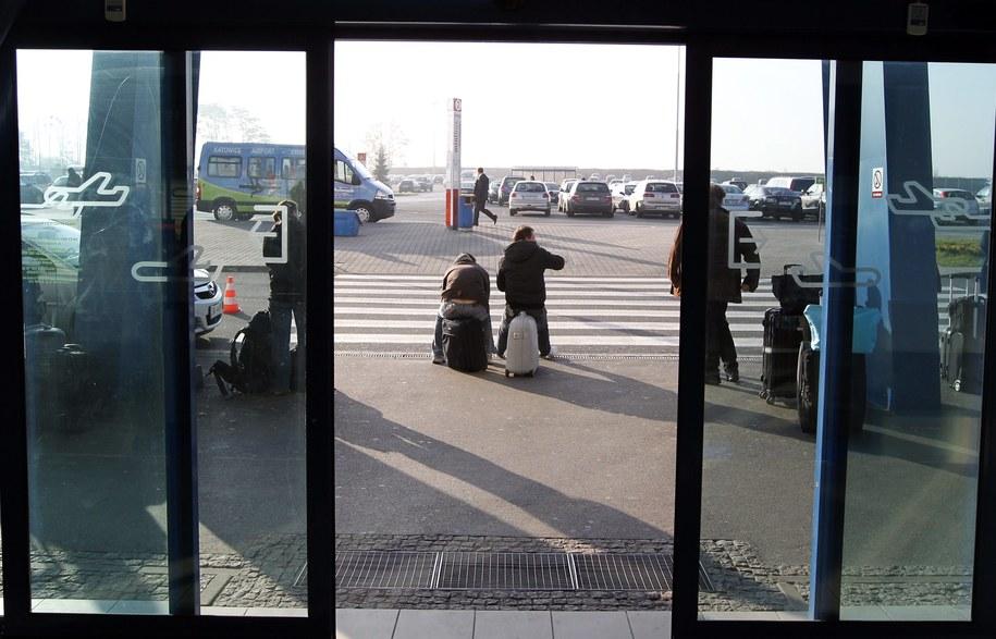 Lotnisko w Pyrzowicach /Andrzej Grygiel /PAP