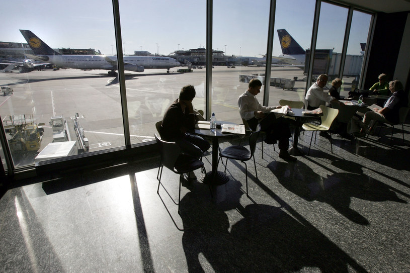 Lotnisko we frankfurcie; Zdj. ilustracyjne /JOHN MACDOUGALL / AFP /AFP
