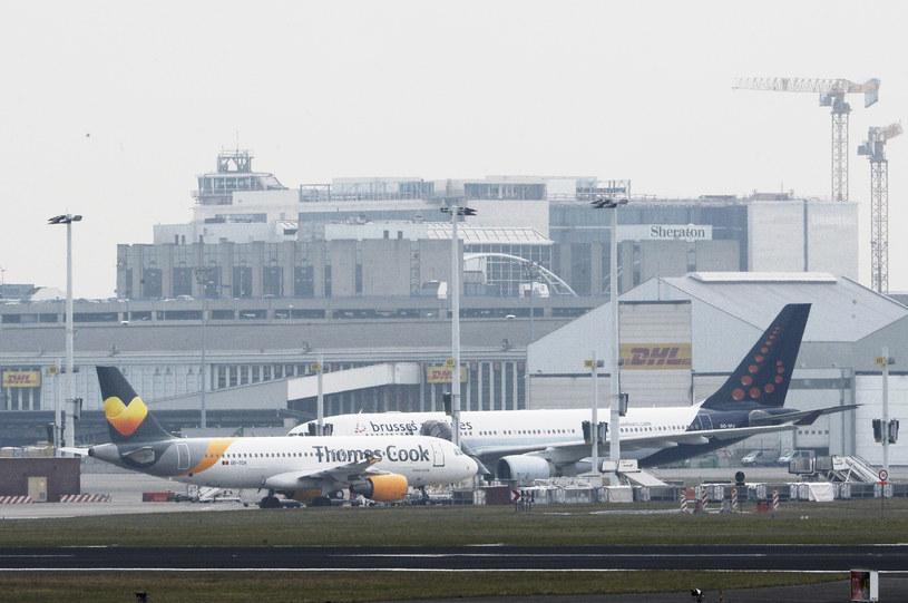 Lotnisko Zaventem /AFP