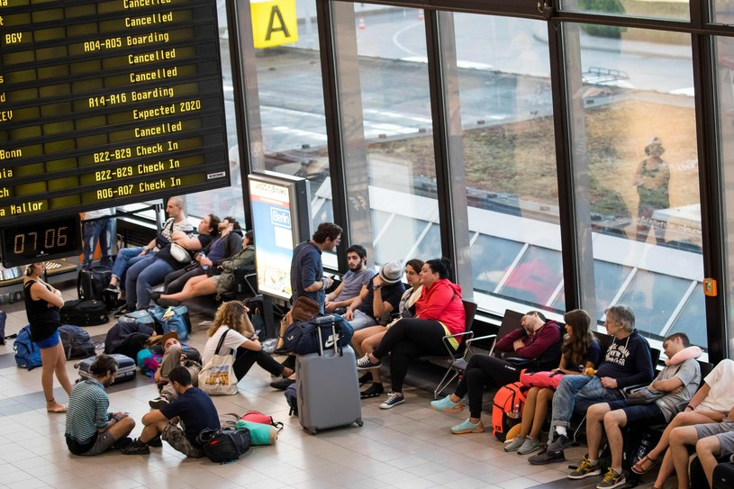 Lotnisko; zdj. ilustracyjne /ODD ANDERSEN /AFP