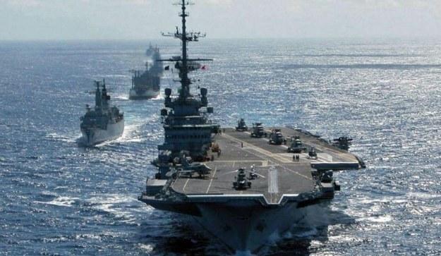 """Lotniskowiec """"Sao Paulo"""".  Fot. Brasilian Navy /materiały prasowe"""