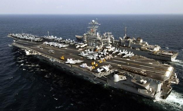 Lotniskowiec typu Nimitz /AFP