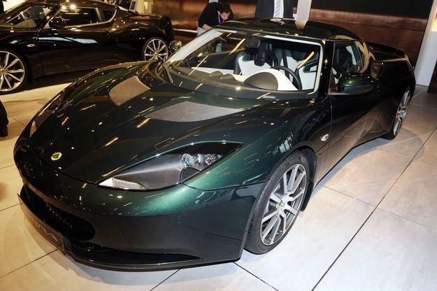 Lotus evora /AFP