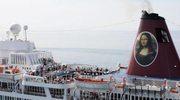 """Łotwa: Wycieczkowiec """"Mona Lisa"""" ściągnięty z mielizny"""