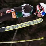 Loty w Oberstdorfie. Kubacki na podium